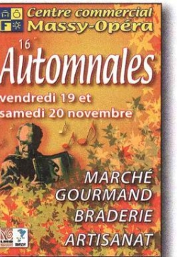 AUTOMNALES A MASSY